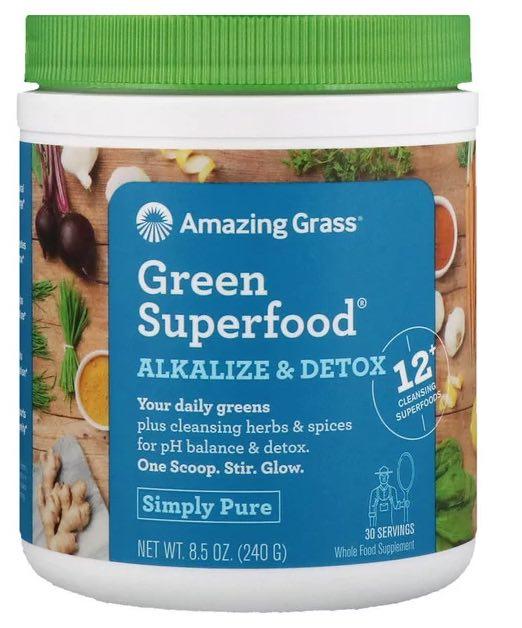 アメイジング グラス グリーン スーパーフード(Amazing Grass Green Superfood)