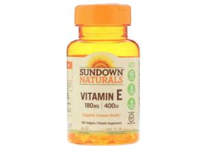 iHerb サプリ Sundown Naturals ビタミンEソフトゲル